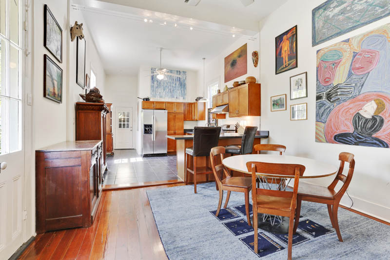 house of the week 12 foot wide slice of the big easy
