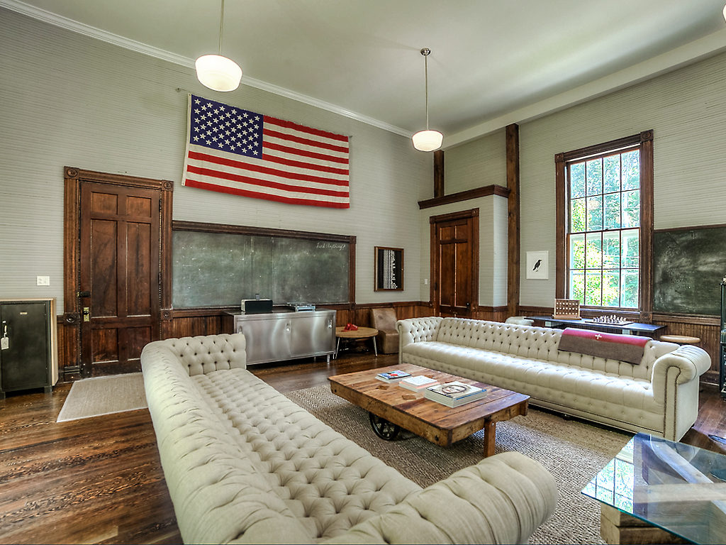 House Of The Week: A Converted One Room Schoolhouse
