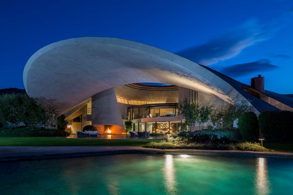 House Of The Week: Bob Hopeu0027s Iconic Lautner Home For Sale