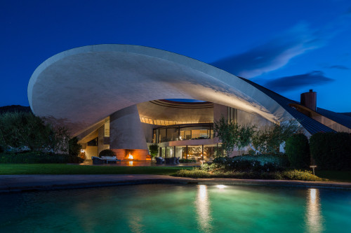 The Beloved Entertainer Had A Collection Of Real Estate In California But His John Lautner Designed House Palm Springs Is Best Bunch