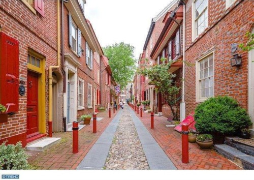 Listed: 4 Luxury Homes on America's Oldest Residential Street