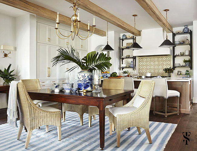 Perfect ... The Designer Also Helped With The Interior Architecture, Choosing  Finishes Throughout. And Since It Was A Second Home, Thornton Also Helped  Choose All ...