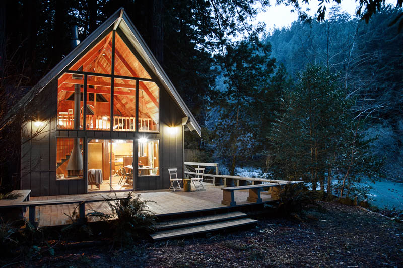 This California Cabin + Airstream Combo Is a Mid-Century