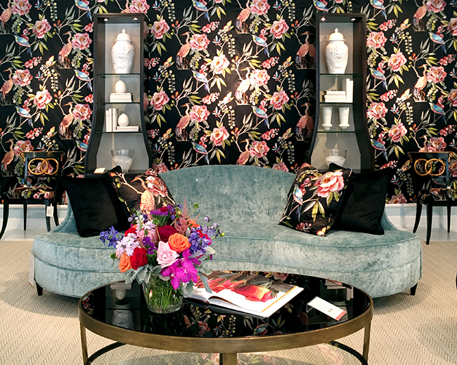 Sneak Peek 5 Home Design Trends Youll Be Seeing In 2018 - Decorative-floral-print-chairs-from-floral-art