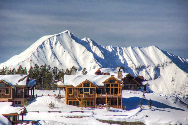 luxury ski homes for sale right on the slopes