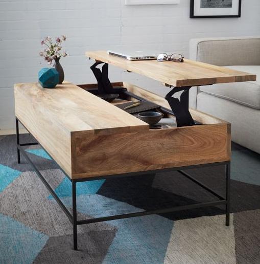 Fancy  industrial coffee table