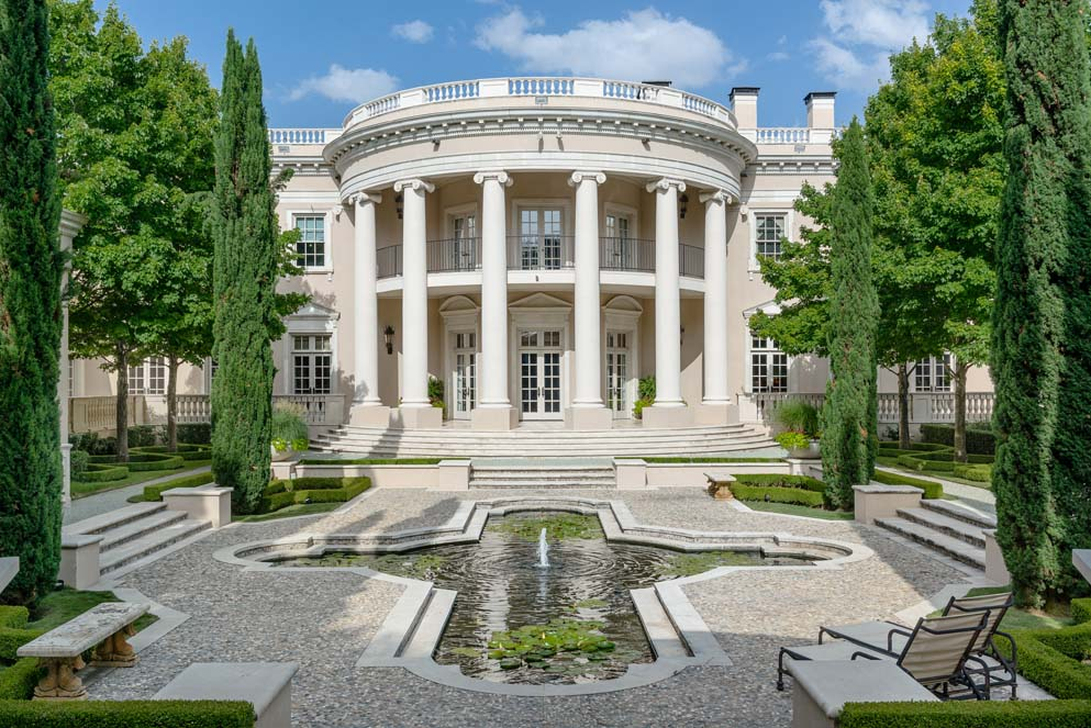 House Of The Week Dallas White House With European Flair