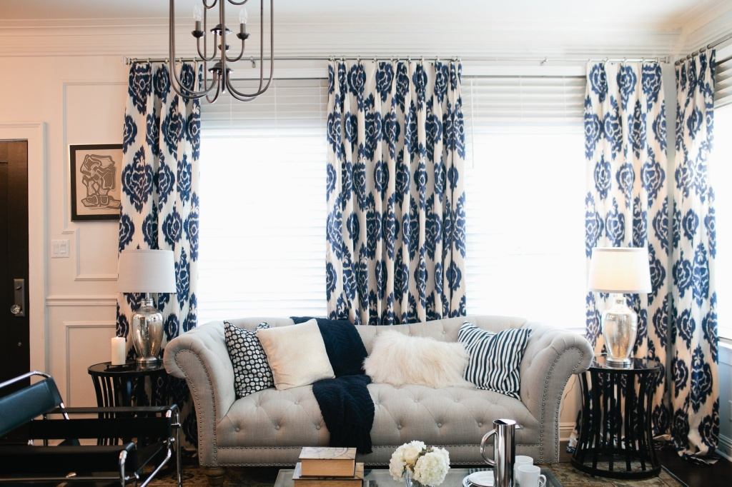 4 blue accent colors - Home Decor 2015