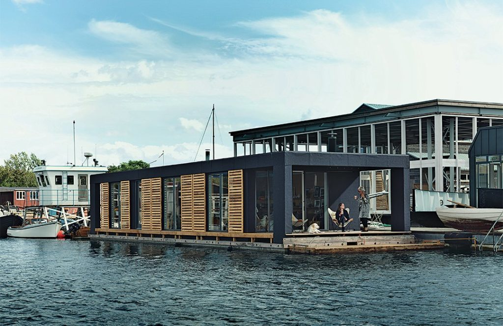 Laust Nørgaard And His Wife, Lisbeth Juul, Drew Upon Their Years Of  Experience Living On The Water To Design And Build This Floating Home In  Copenhagen ...