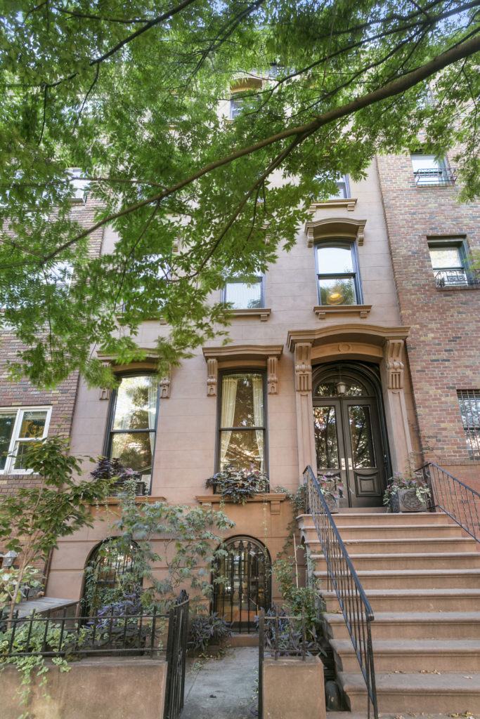 Pictures of a brownstone home