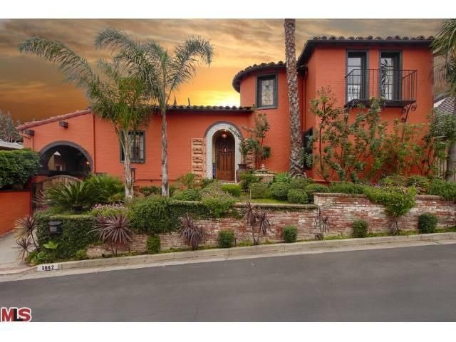 Ali landry lists spanish style home in los feliz for Spanish style homes for sale