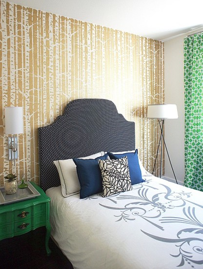 Dream Bedroom Cover Panels In Fabric Walls : American dream builders episode before after