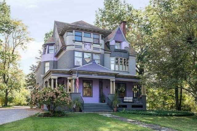 Rust belt mansions from an age of opulence for Victorian tiny house for sale