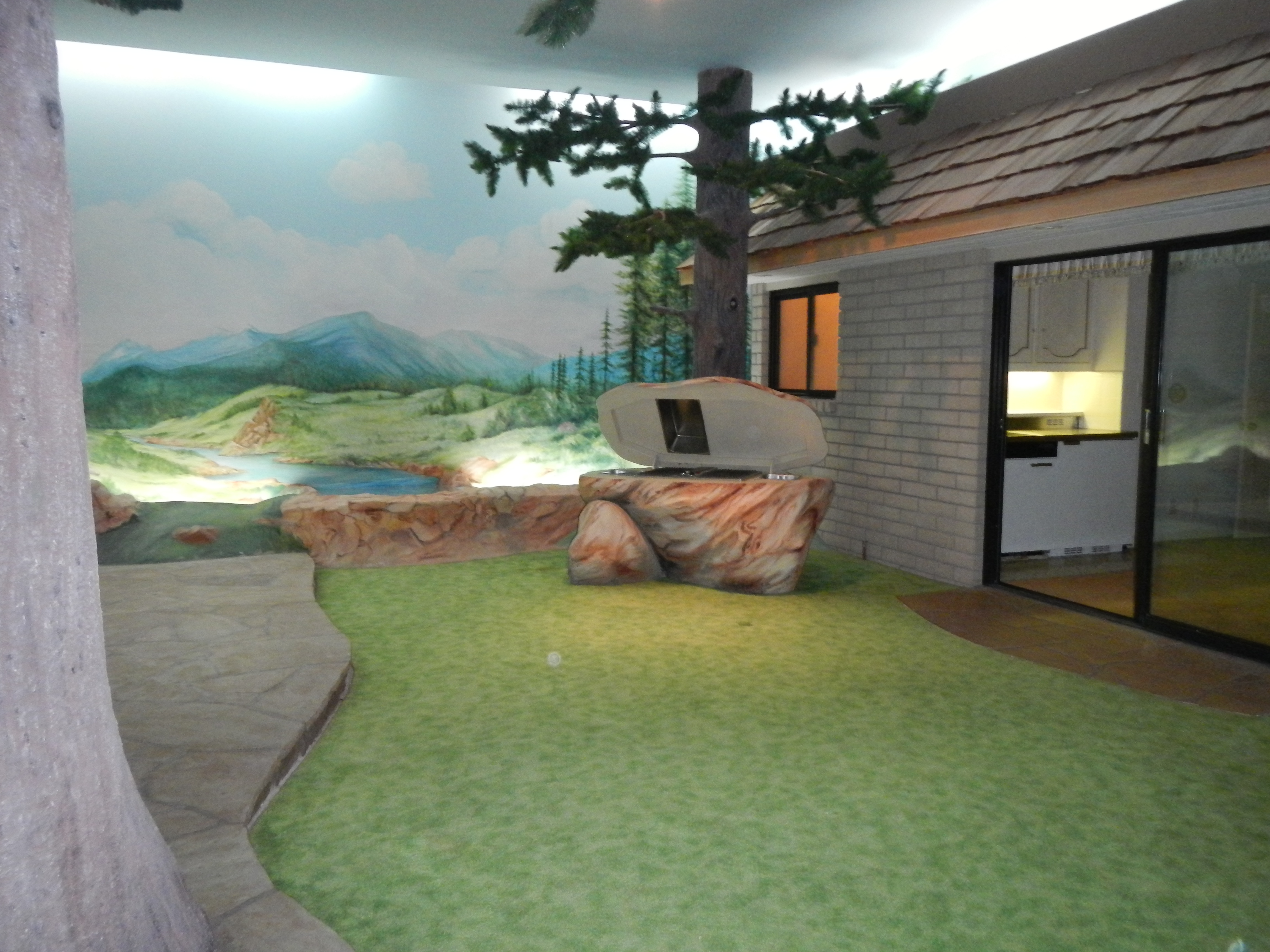 underground home.  House of the Week Las Vegas Home Built Completely Underground