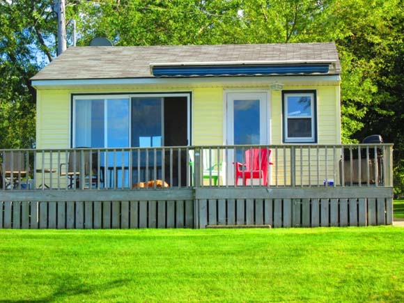 fun lakefront vacations with family and friends await at this adorable 480 square foot cabin nestled alongside otter tail lake this recently remodeled - Small Cabins For Sale 2