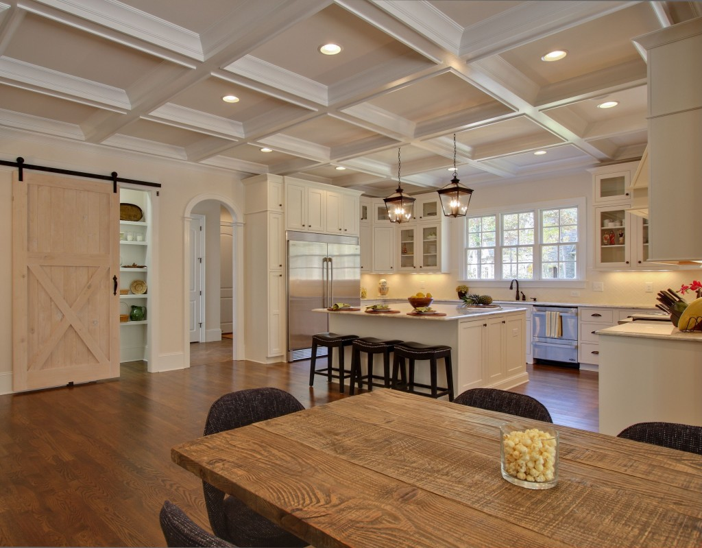 Kitchen Remodels With Low Ceiling And A Beam
