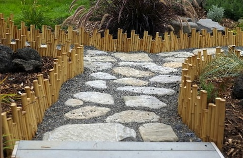 no 1 edging - Garden Design Using Bamboo