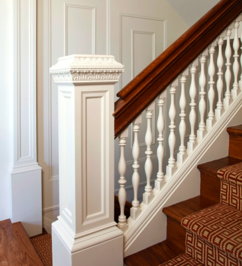 16 Elegant Traditional Staircase Designs That Will Amaze You: 5 Design Tips To Cure 'Model Home Syndrome