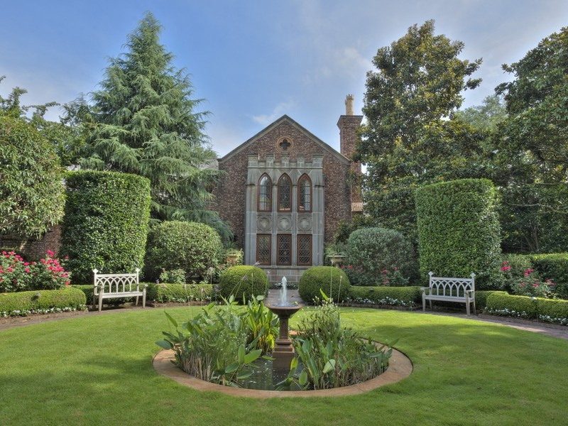 It's easy to picture Tish snipping roses on the grounds of this lakefront  estate. Built in 2007, its Gothic features meld with modern luxuries such  as an ...