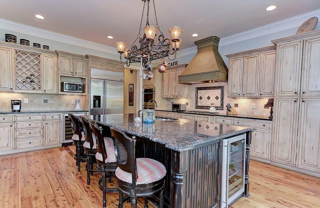 this grand 6 bedroom 7 bathroom charlotte home boasts stunning custom features like refinished hardwood floors custom millwork and tray ceilings - Custom Kitchen Cabinets Charlotte Nc