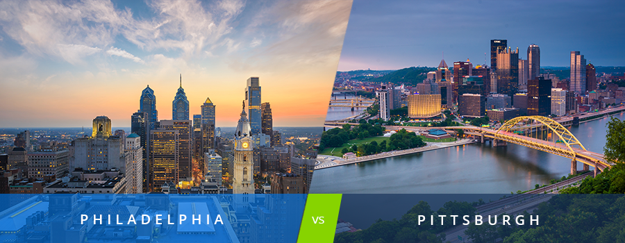 philadelphia or pittsburgh  which city is right for you