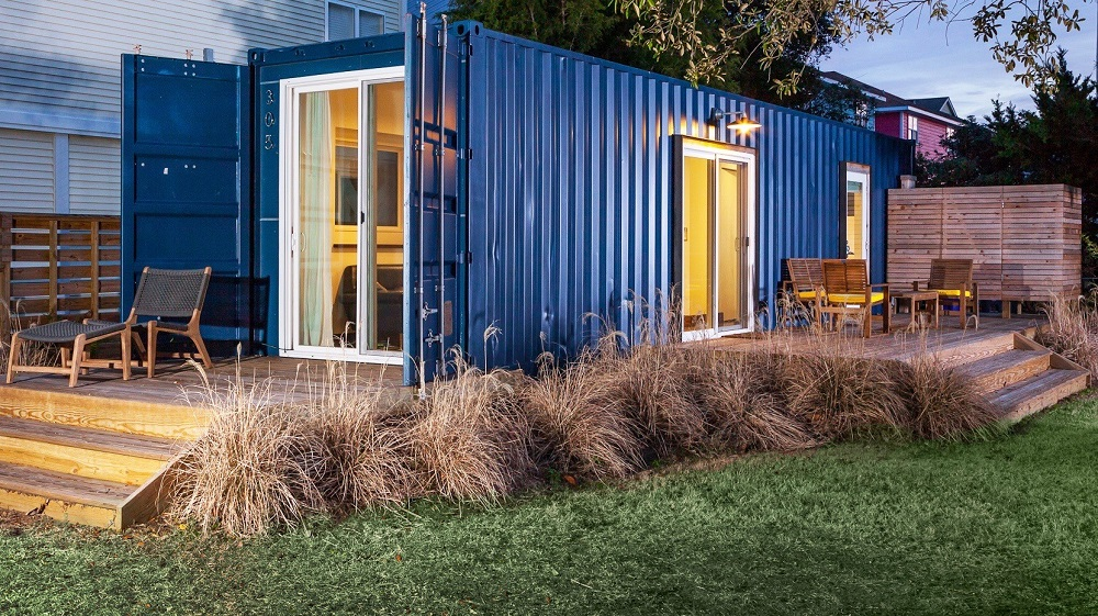 Tiny Shipping Container Big Style House of the Week