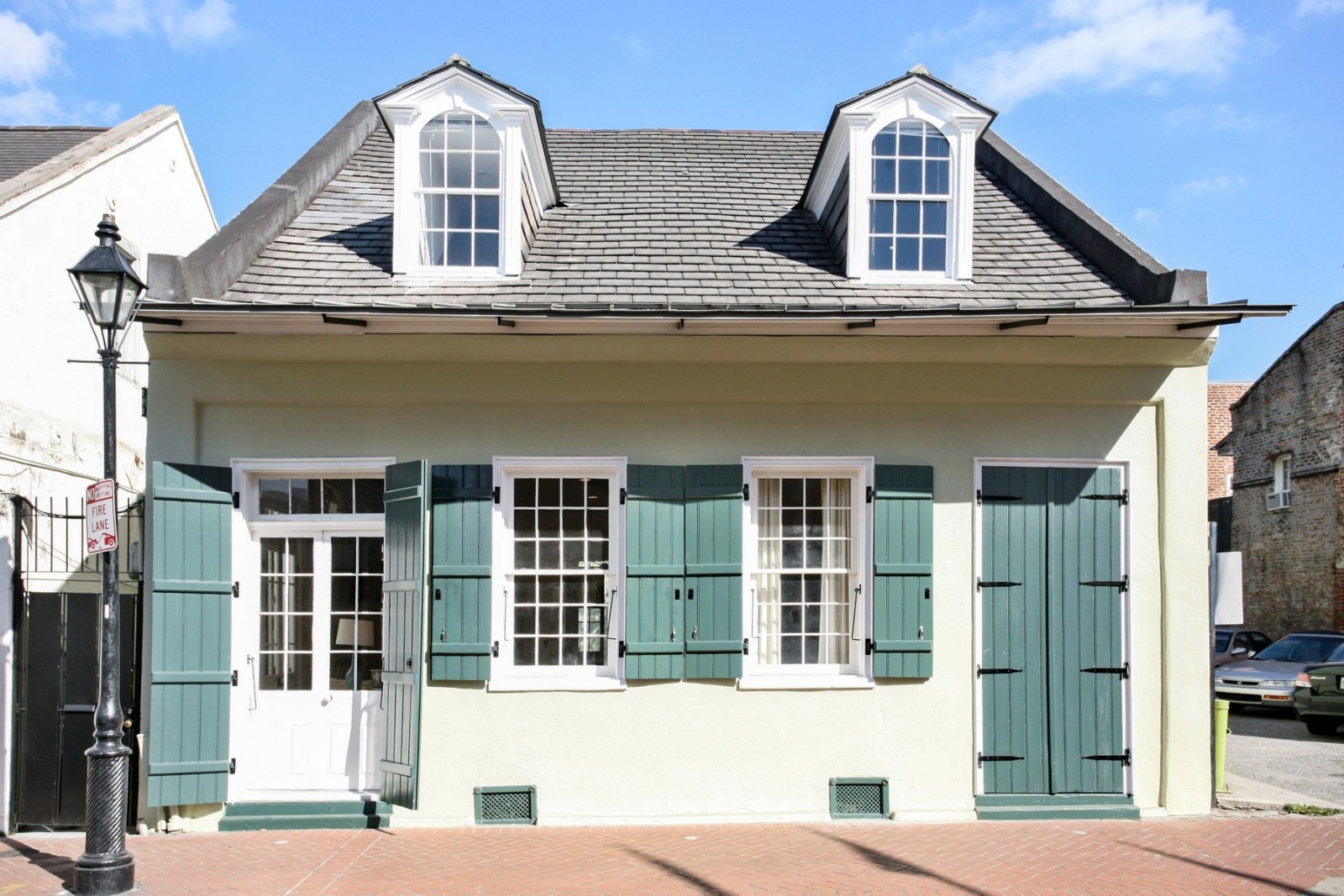 House of the Week An Early 1800s Creole Cottage in the French Quarter