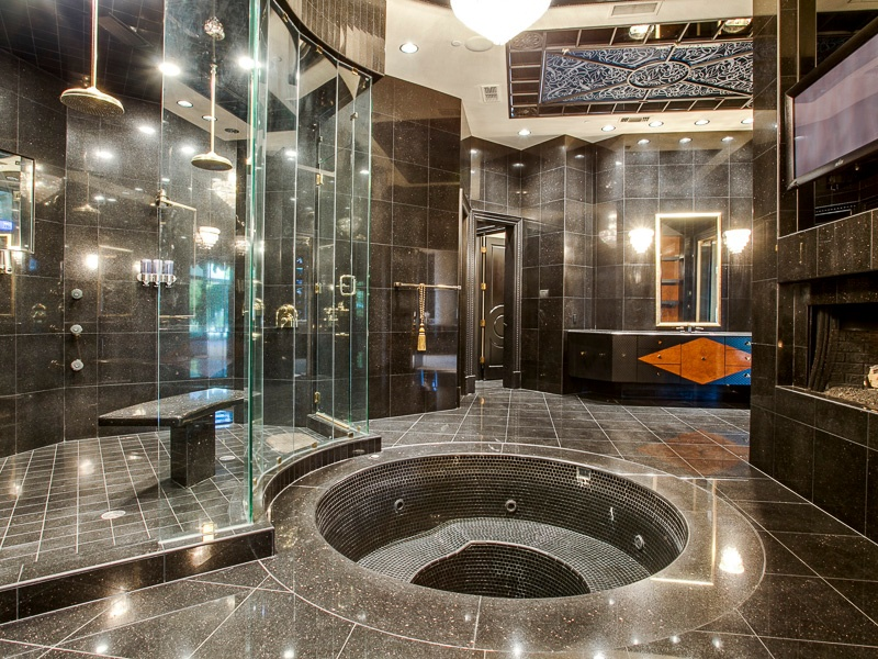 Mansion Master Bathrooms deion sanders  former home will make you want to  do a touchdown. Awesome 30  Mansion Master Bathrooms Inspiration Design Of Perfect
