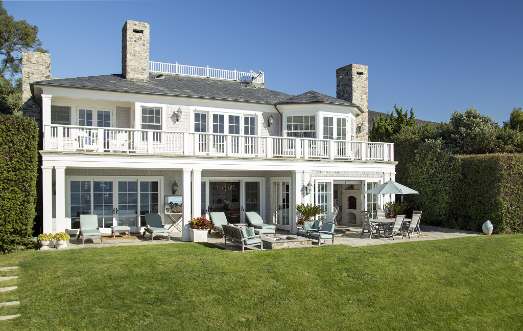 photo: house/residence of intelligent 30 million earning Santa Barbara, California-resident