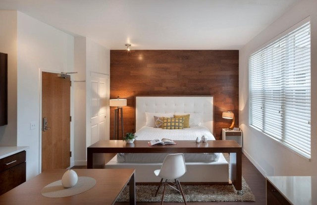 urban living isnt always so far from nature the denver botanic gardens are just around the corner from this 516 square foot studio apartment - Studio Apartment Design Ideas 500 Square Feet