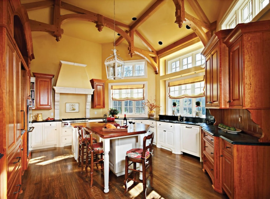 Bubble, Bubble: Hereu0027s The Arched Kitchen Of A Grand Gothic Revival Mansion  Spanning More Than 10,000 Square Feet With Hand Carved Limestone, Wrought  Iron ...