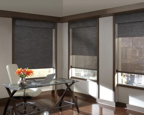 Fabric Shades Provide Privacy And Light Control Source 3 Day Blinds