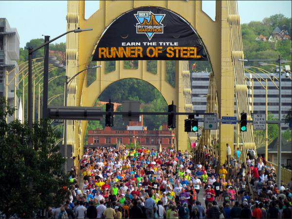 The Pittsburgh Marathon. Source: Brook Ward via Flickr Creative Commons
