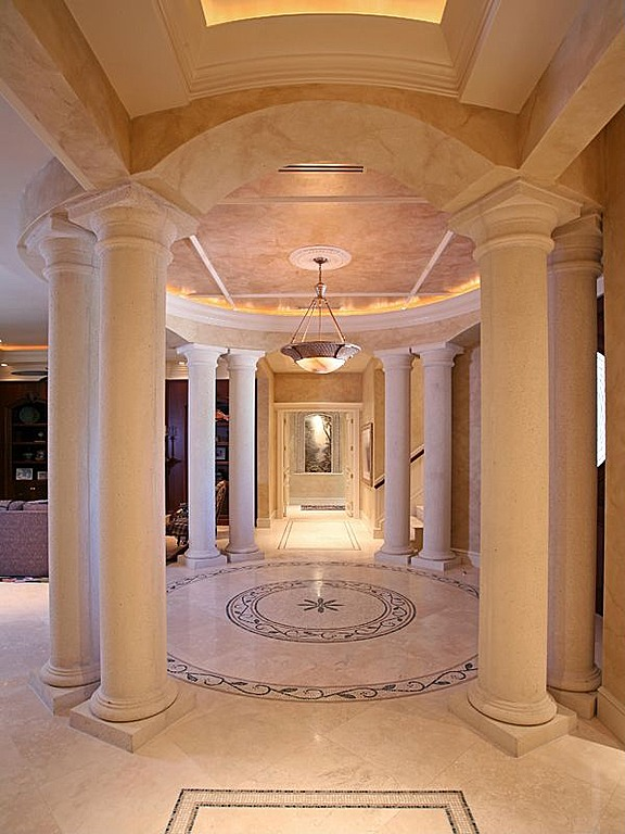Jupiter House Foyer Hayes : Former nba great larry bird selling naples home for