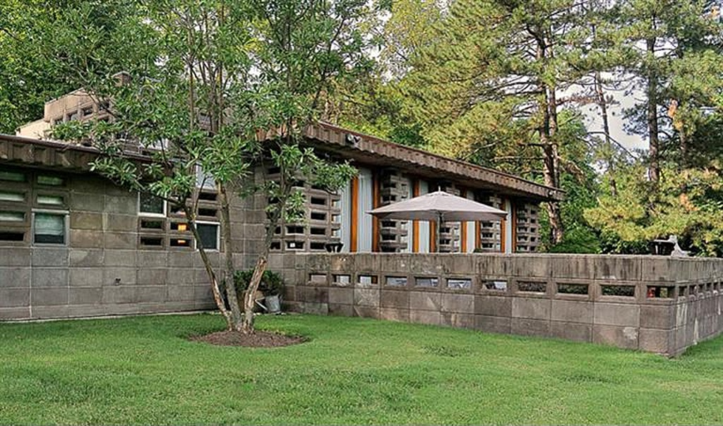 Frank Lloyd Wright Home In Cincinnati Hits Market For