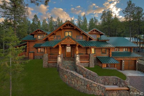 Log Cabin Homes Indiana For Sale
