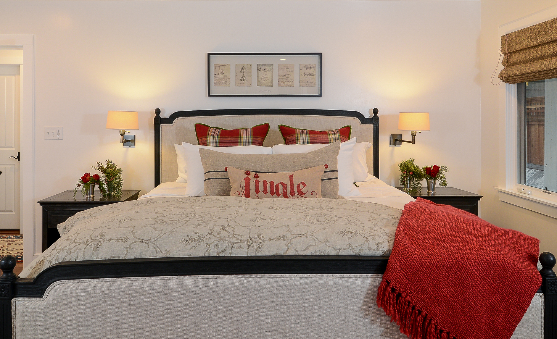 Holiday Bedroom Decorating Ideas Part - 25: Guest Bedroom
