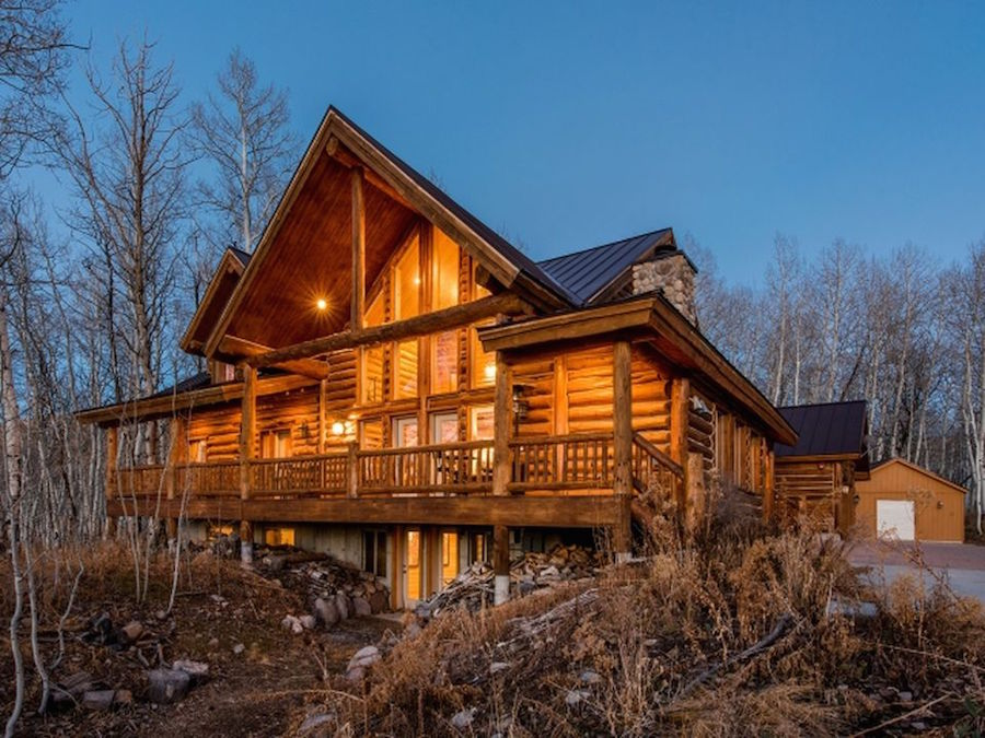 Log Cabins, From Modest to Massive