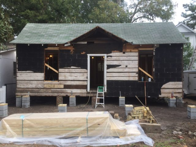 Before After Low Country Cottage Renovation