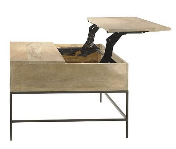 Lift Top Coffee Table West Elm: 10 Stylish Living Room Storage Solutions