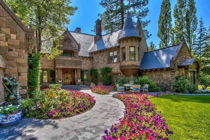10 whimsical fairy tale homes for Castle style homes for sale