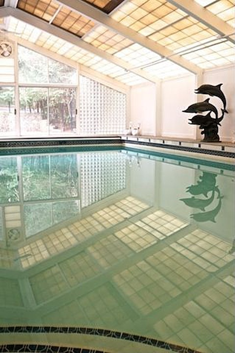 Nice Remember The Pool Scene? It Took Place In The Indoor Pool House Of This  Brookline, MA Home.