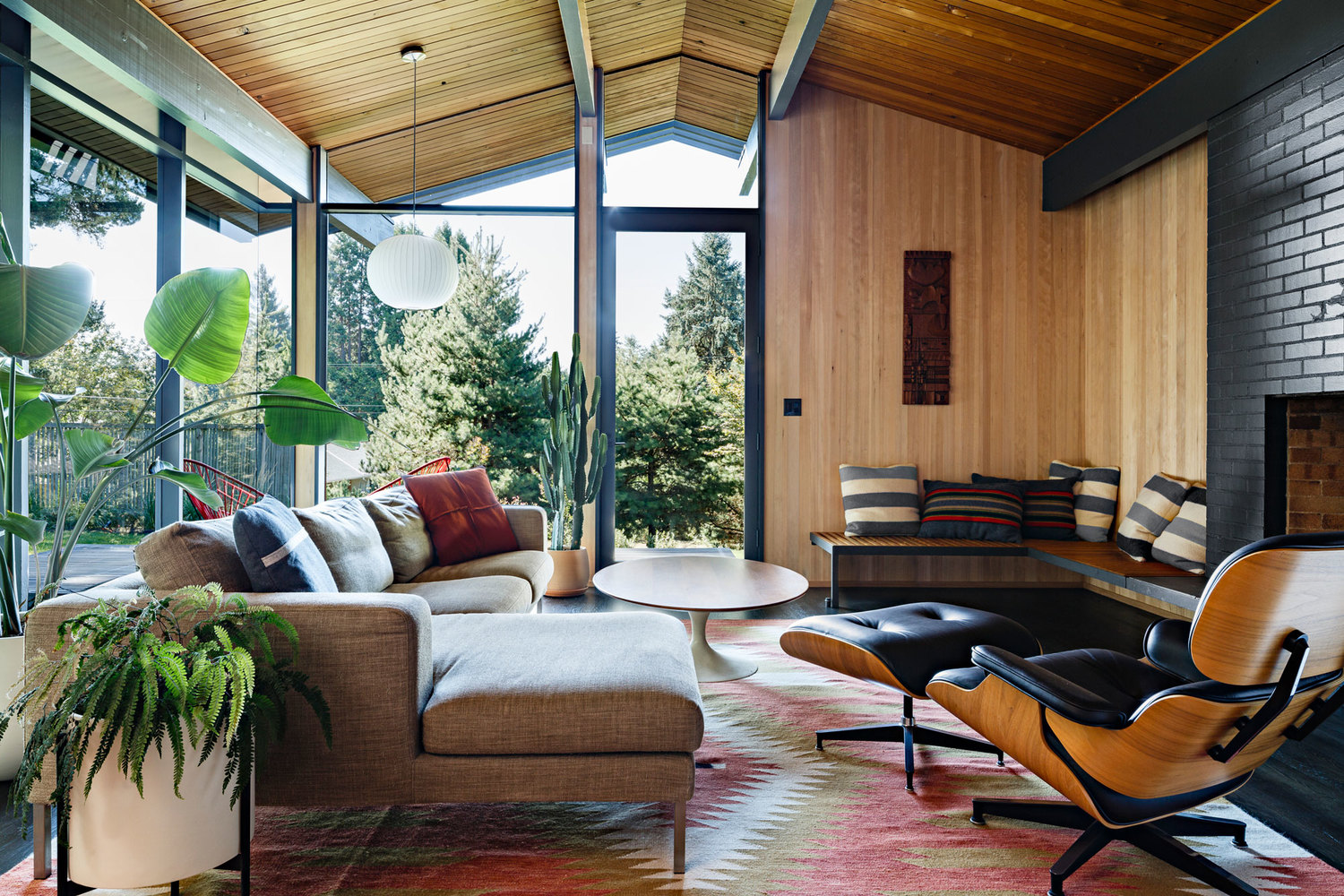 Mid Century Modern Architect Saul Zaik Home In Portland Restored