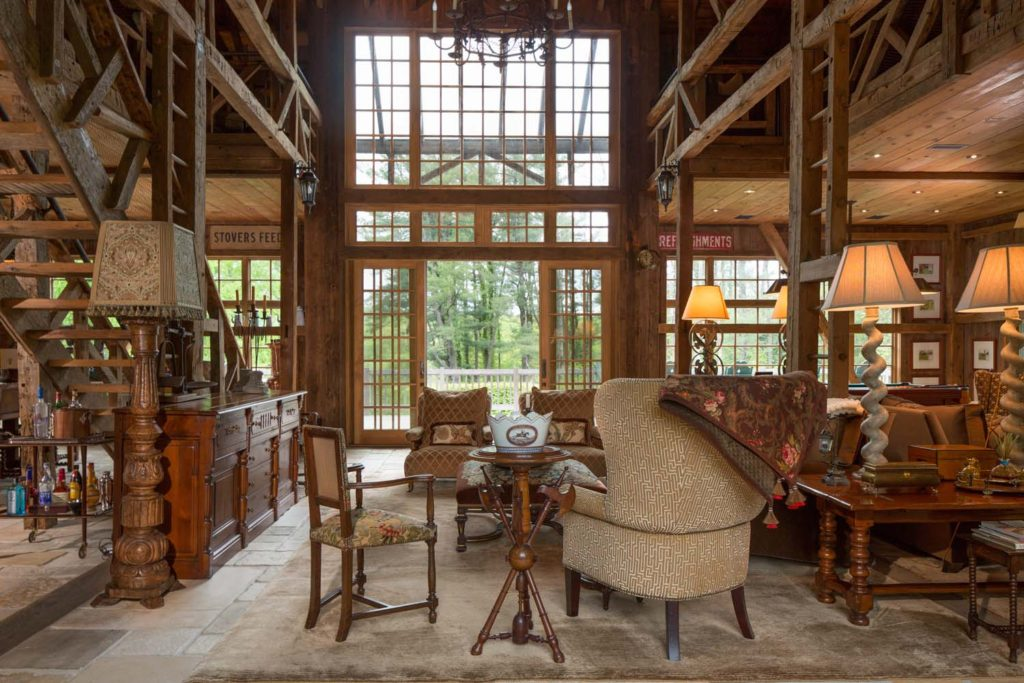 House Of The Week A Historic Farmhouse With Luxury Barn