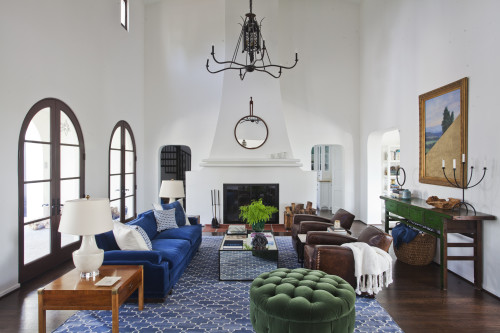 Room Of The Week: Celebrity-Inspired Living Room Design