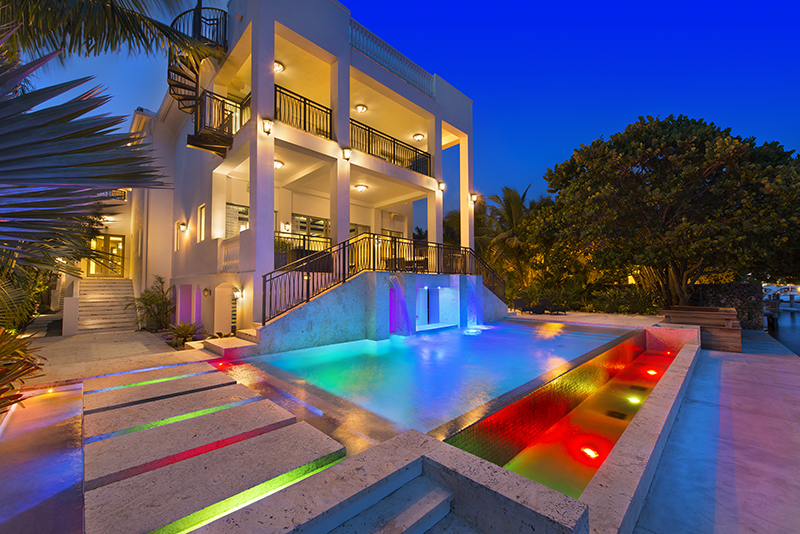 indoors there are 6 bedrooms 85 baths a home theater and an elevator according to the los angeles times which broke the story that a sale is near