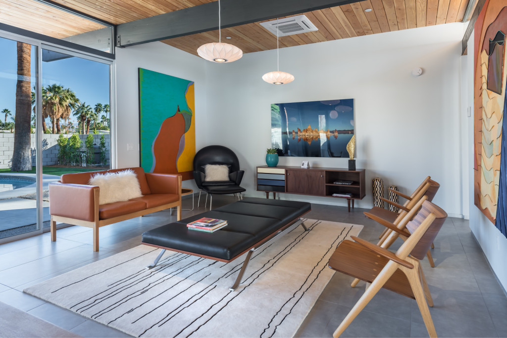 House Of The Week A Brand New Mid Century Modern In Palm