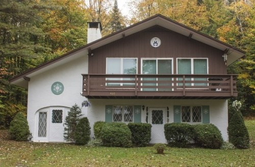 For sale bavarian style homes primed for oktoberfest for Chalet style homes for sale