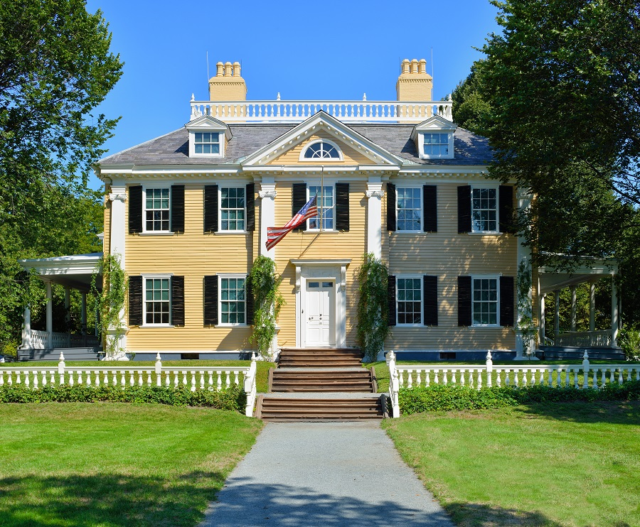 Georgian Colonial Mansion home architecture 101: colonial