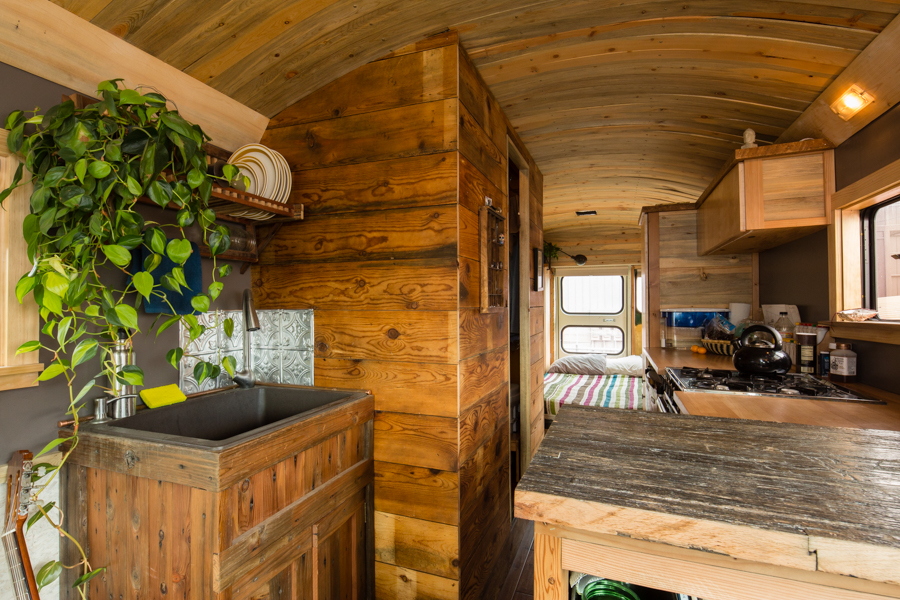 Wild Ride Turning School Buses Into Homes On Wheels